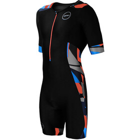 Zone3 Activate+ Trisuit korte mouwen Heren, midnight camo